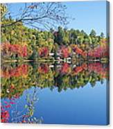 Paint Lake  Muskoka Canada Canvas Print