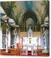 Painted Church Of Hawaii Canvas Print