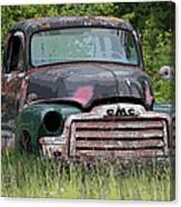 Painted Gmc Truck Canvas Print