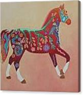 Painted Horse B Canvas Print