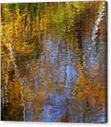 Painted River Canvas Print