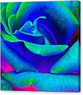Painted Rose 2 Canvas Print