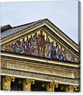 Palace Of Art - Heros Square - Budapest Canvas Print