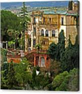 Palace Of The Arabian King - Ronda Canvas Print