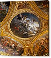 Palace Of Versailles Ceiling Canvas Print