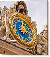 Palace Of Versailles France Canvas Print