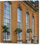 Palace Windows And Topiaries Canvas Print