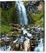 Palaikni Falls Valley Canvas Print