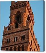 Palazzo Vecchio In Florence  Canvas Print