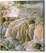 Palette Spring In Mammoth Hot Springs Canvas Print