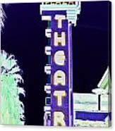 Palm Springs Nightlife Canvas Print