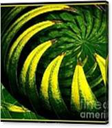 Palm Tree Abstract Canvas Print