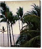 Palms In The Breeze Canvas Print