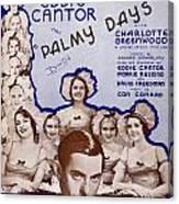 Palmy Days Canvas Print