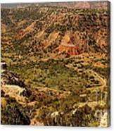 Palo Duro Canyon Texas Canvas Print