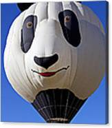Panda Bear Hot Air Balloon Canvas Print