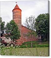 Panemunes Castle. Lithuania. Canvas Print