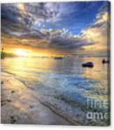 Panglao Island Sunrise Canvas Print
