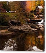 Panorama  Glade Creek Mill Canvas Print