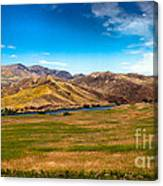 Panoramic Range Land Canvas Print