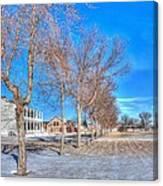 Parade Grounds - Fort Laramie  Canvas Print