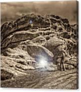 Paranormal Rockies Canvas Print