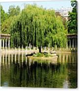 Parc Monceau Paris Canvas Print