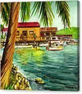 Parguera Fishing Village Puerto Rico Canvas Print