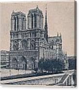 Paris - Notre Dame Canvas Print