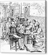 Paris: Chat Noir, 1889 Canvas Print