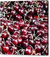 Paris Cherries Canvas Print
