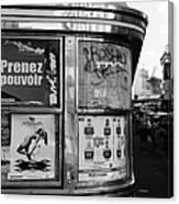 Paris Diner 2 Canvas Print