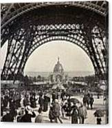 Paris Exposition, 1889 Canvas Print