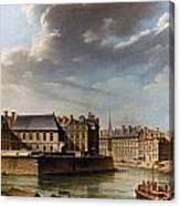 Paris: Ile Saint-louis Canvas Print