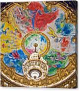 Paris Opera House II Canvas Print
