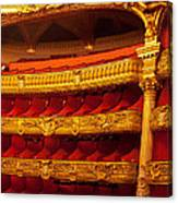Paris Opera House Iv   Box Seats Canvas Print