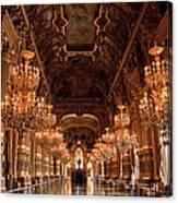 Paris Opera House Vi Canvas Print