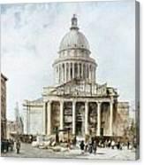 Paris: Pantheon, 1835 Canvas Print