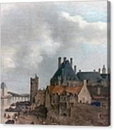 Paris: Pont Neuf, 1637 Canvas Print