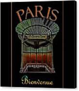 Paris Poster Art 1 Canvas Print