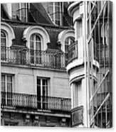 Paris Reflections 1 Canvas Print