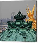 Paris Rooftops 1 Canvas Print