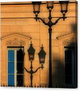 Paris Shadows Canvas Print