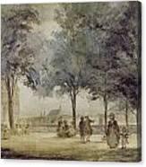 Paris: Tuilerie Gardens Canvas Print