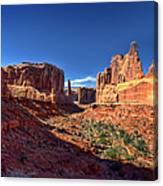 Park Avenue 1 Arches National Park Canvas Print