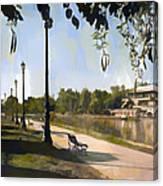 Park San Martin Mendoza Argentina Canvas Print