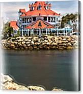 Parker's Lighthouse Charm Canvas Print