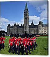 Parliament Building Ottawa Canada  Canvas Print