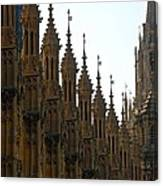 Parliament's Spires Canvas Print