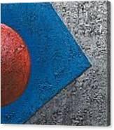 Part Sphere 2 Canvas Print
